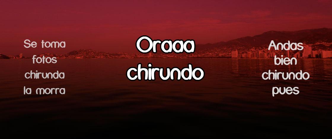 Frases de Chirundos