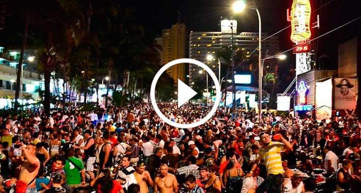 Festival Aca Motos en Acapulco