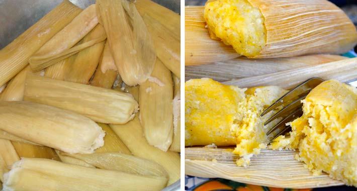 Resultado de imagen para Tamales de elote dulces