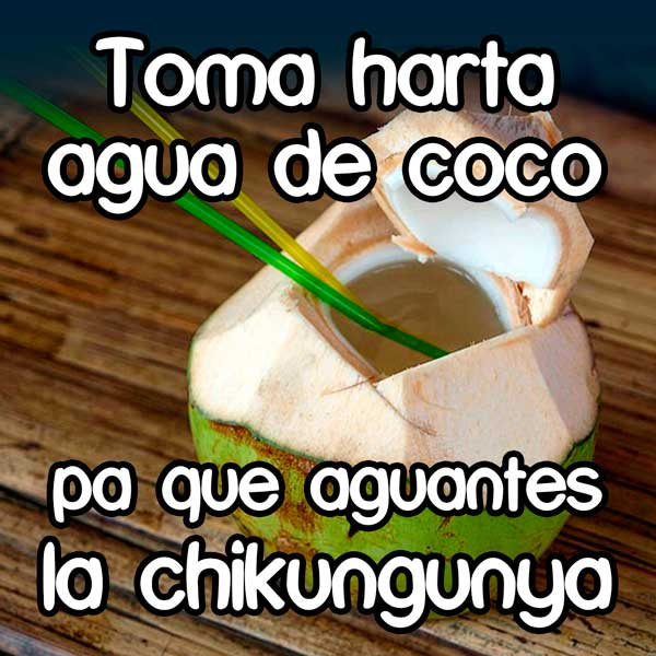 AguaCocoChikunguya