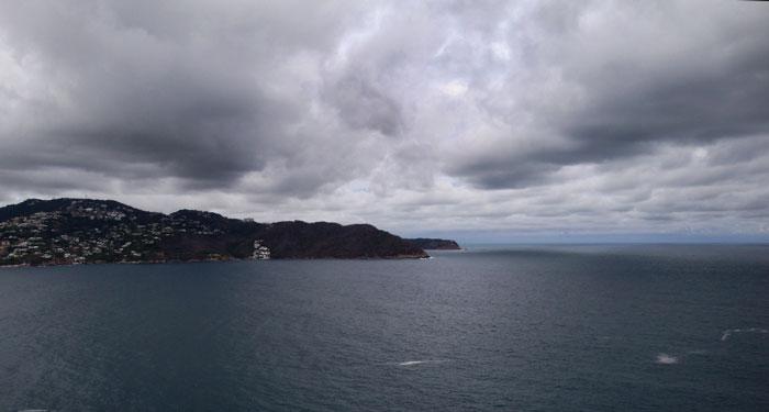 Pronostican Ciclón en Acapulco en este fin de semana
