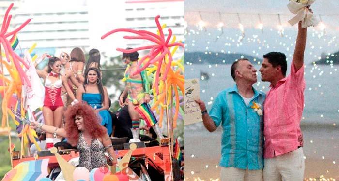 Acapulco, entre los 5 «Paraísos Gay» de México