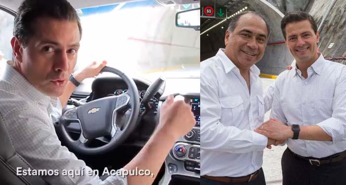 «Macrotúnel, la obra que Acapulco necesitaba para salir adelante»: EPN