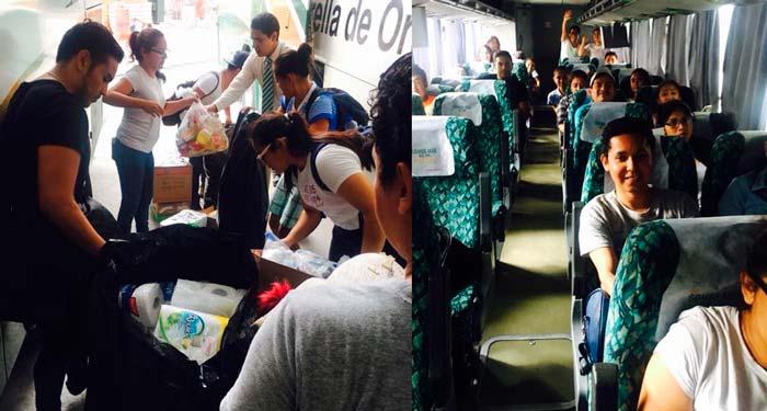 Rescatistas Acapulqueños parten hacia Jojutla para apoyar a damnificados