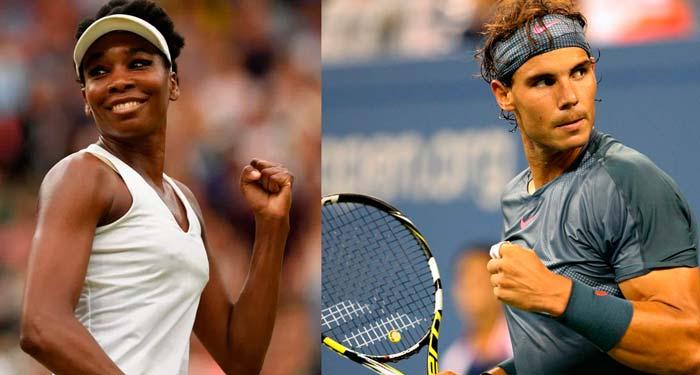 Venus Williams y Rafael Nadal: Los mejores tenistas del Mundo jugarán en Acapulco