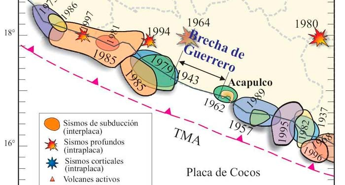 Científicos mexicanos y japoneses pronostican un «gran sismo» en Guerrero
