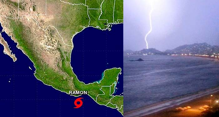 Tormenta Tropical «Ramón» provocará lluvias torrenciales en Guerrero