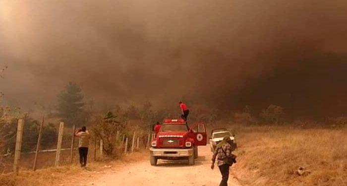 Impactantes imágenes del incendio de Chilpancingo
